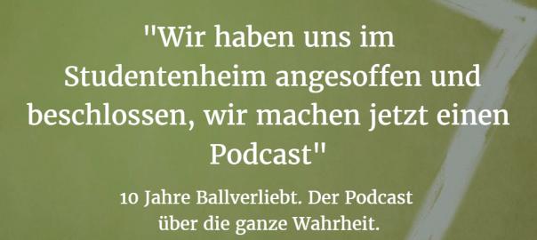 Podcast-Cover: 10 Jahre Ballverliebt
