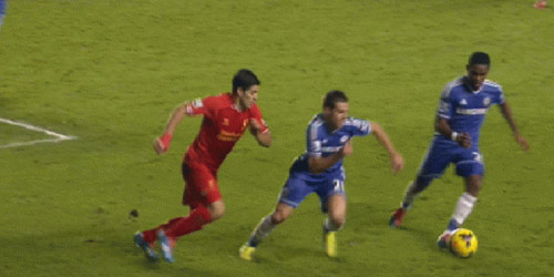Eto'o vs Suarez