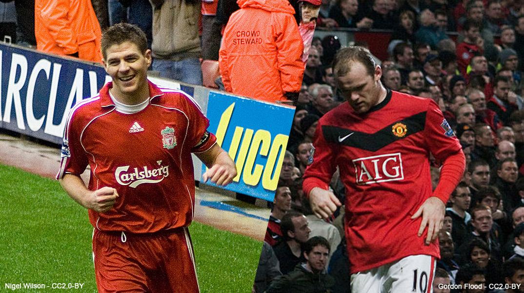 Steven Gerrard vs Wayne Rooney