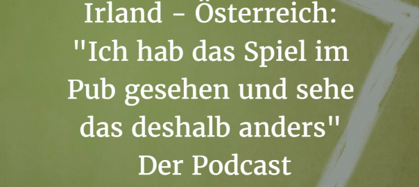 Irland - Österreich: Podcast-Cover