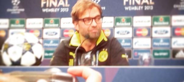 Jürgen Klopp, Wembley, Champions League-Finale, 2013
