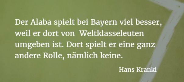 Hans Krankl über David Alaba