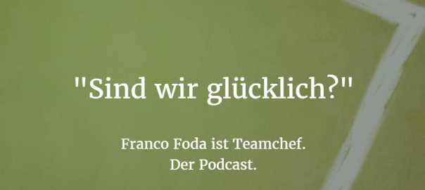 Foda ist Teamchef: Cover