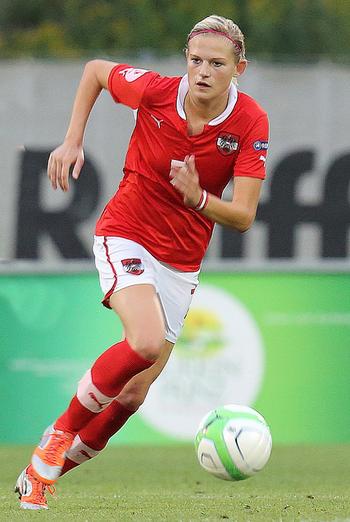 Abwehr-Chefin Carina Wenninger (Foto: Gerhard Möhsner)
